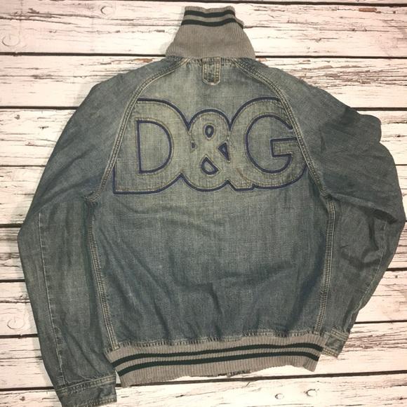174917fcbb Dolce   Gabbana Other - Dolce   Gabbana Men s Blue Denim Jacket